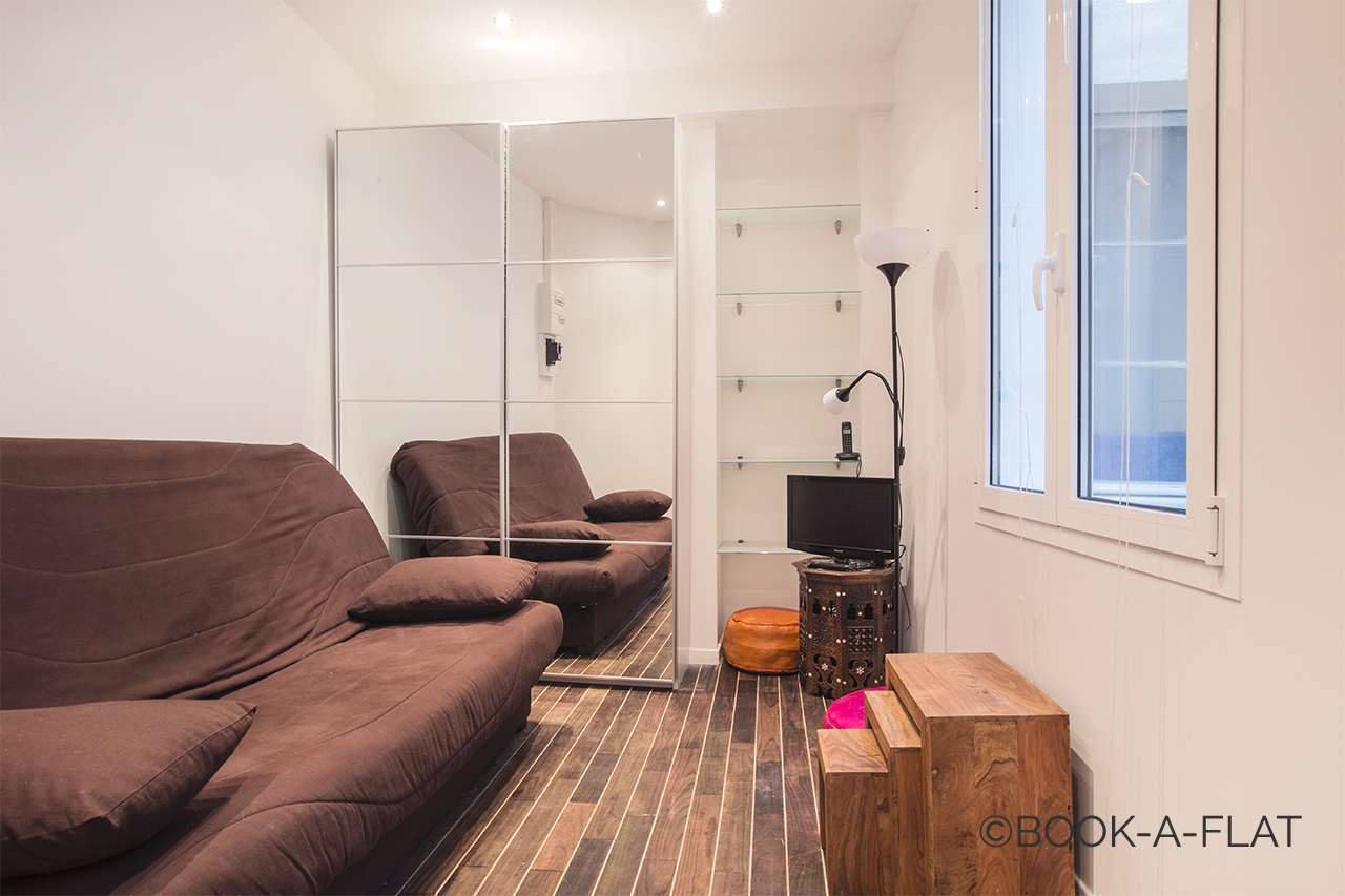 Furnished apartment for rent Paris Rue de Seine