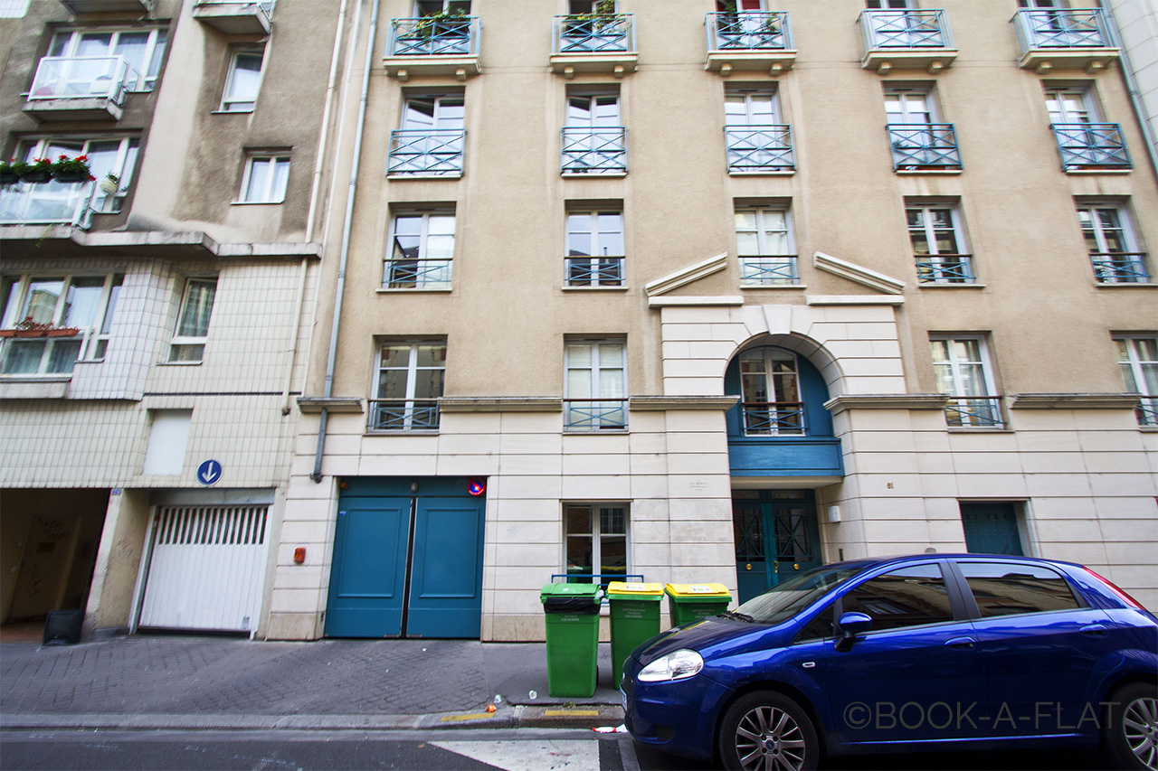 Appartement Paris Rue Bichat 9