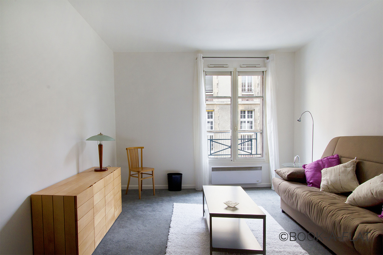Furnished apartment for rent Paris Rue Bichat
