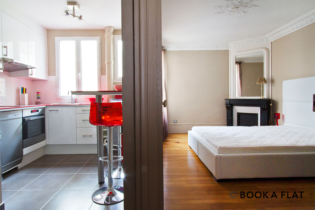 Apartment Paris Rue Duvivier 8