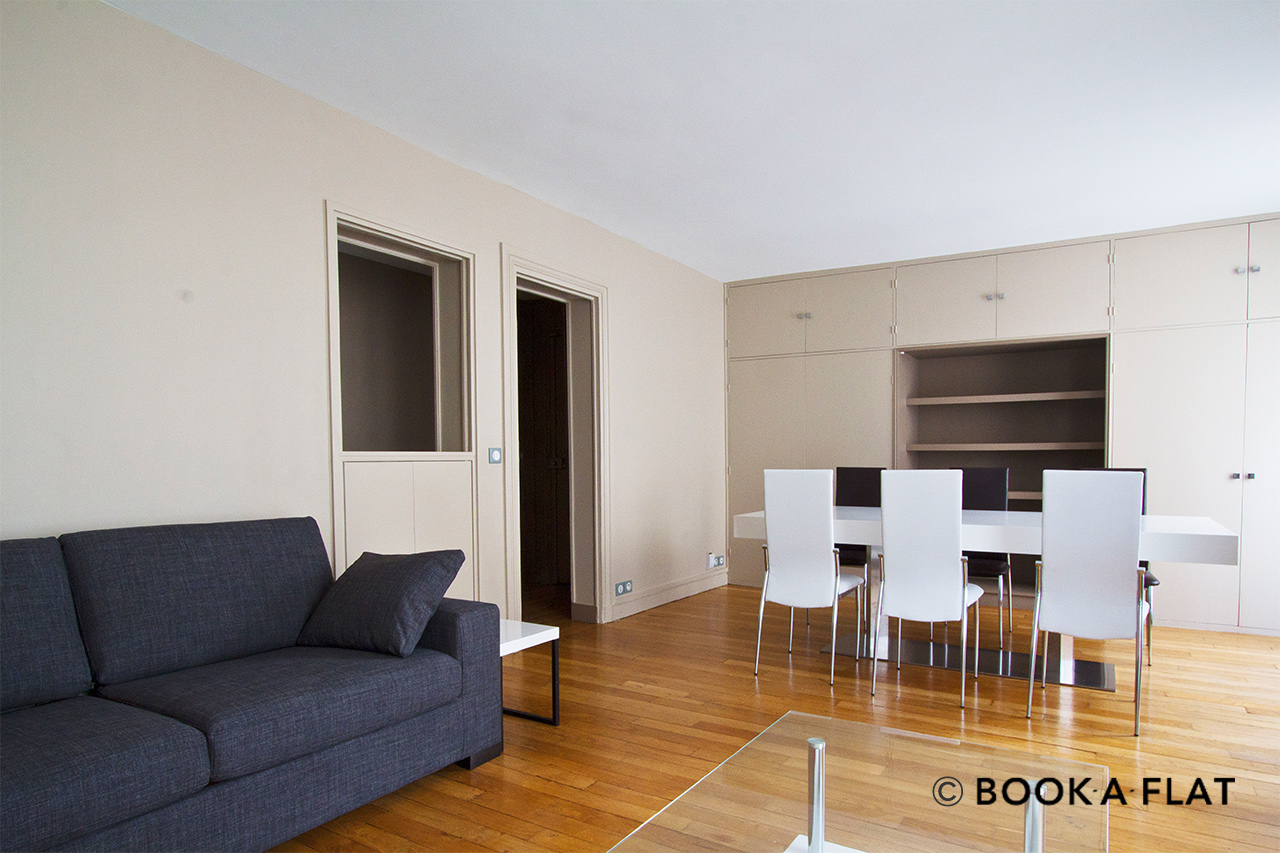 Furnished apartment for rent Paris Rue Duvivier