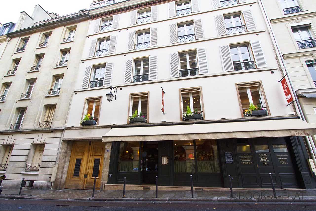 Appartement Paris Rue Corneille 13