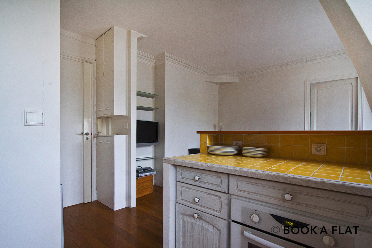 Apartment Paris Rue Dombasle 7