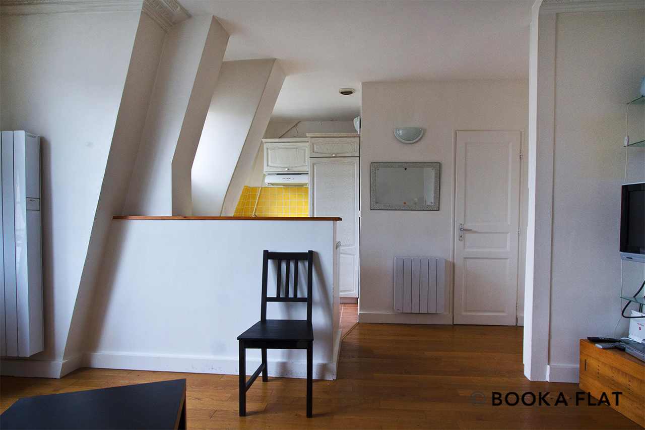 Apartment Paris Rue Dombasle 4