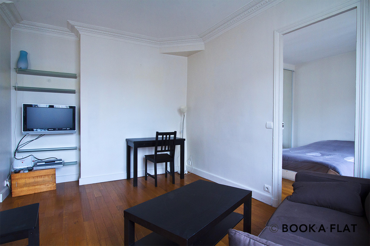 Apartment Paris Rue Dombasle 2