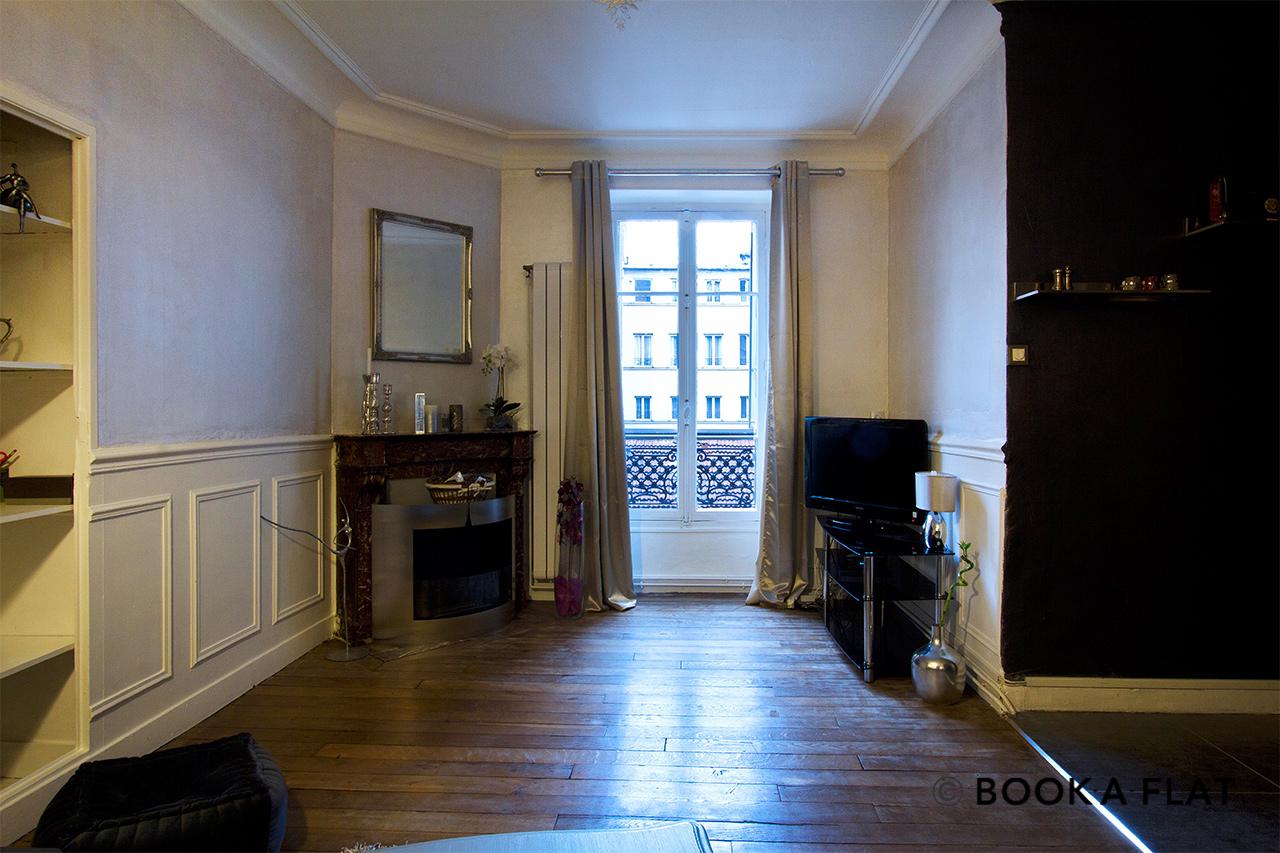 location appartement meubl rue des acacias paris ref 5888. Black Bedroom Furniture Sets. Home Design Ideas