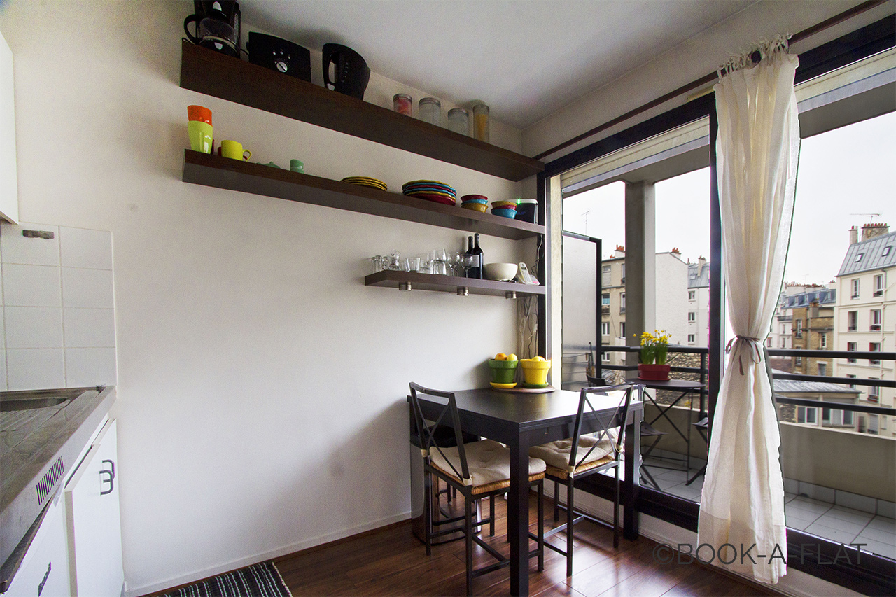 Appartement Paris Rue Sedaine 3