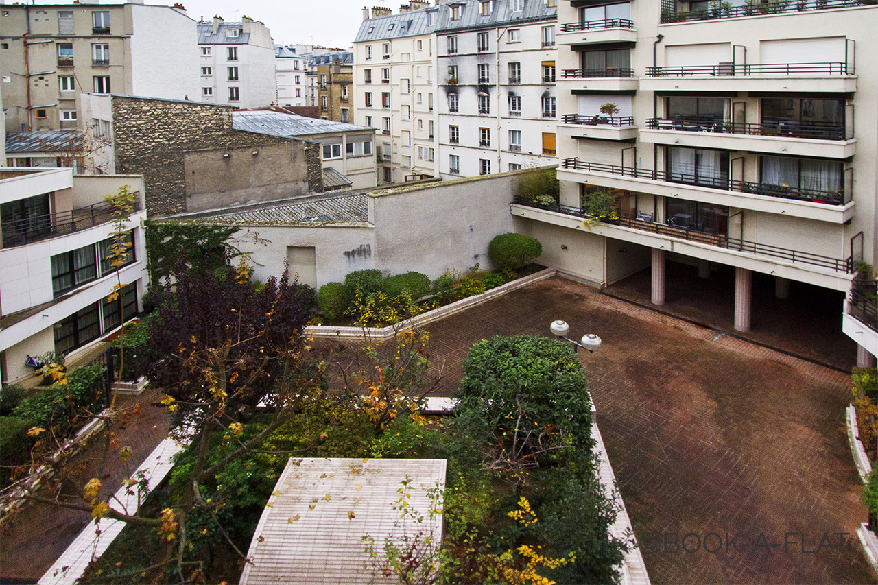 Appartement Paris Rue Sedaine 8