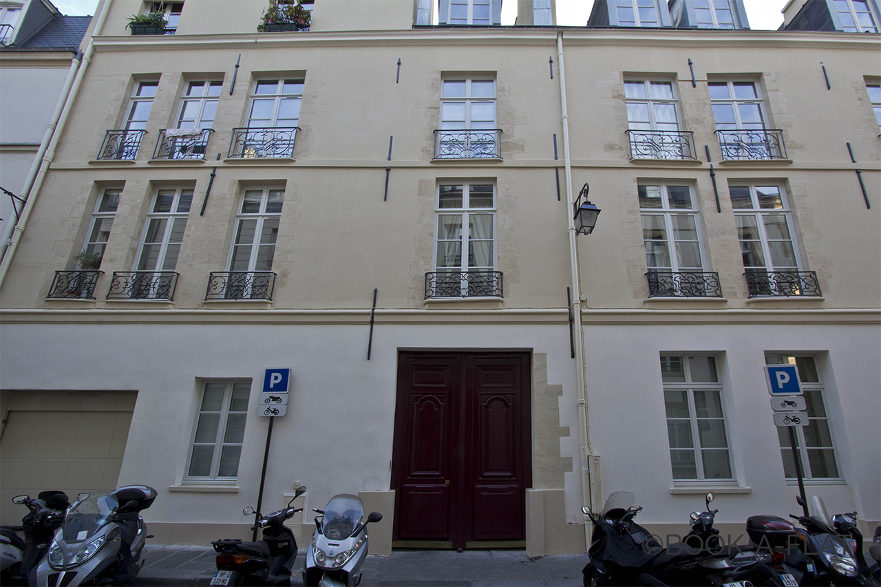 Appartement Paris Rue Pastourelle 10
