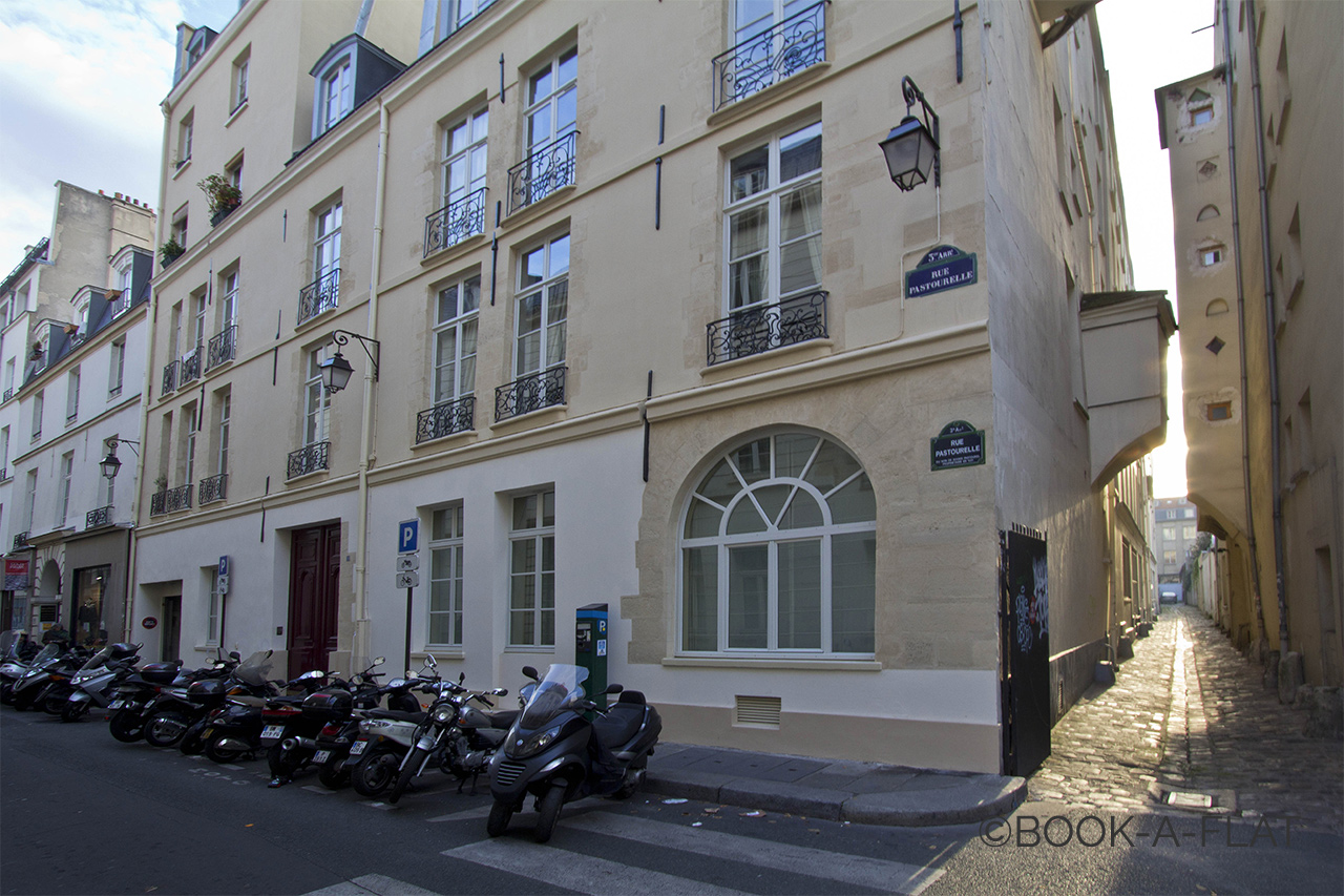 Appartement Paris Rue Pastourelle 11