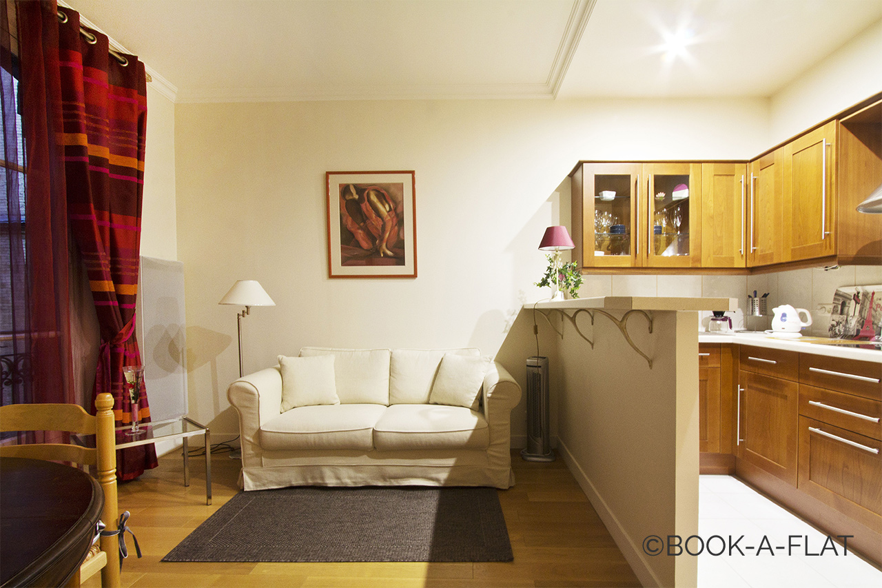 Furnished apartment for rent Paris Rue Sedaine