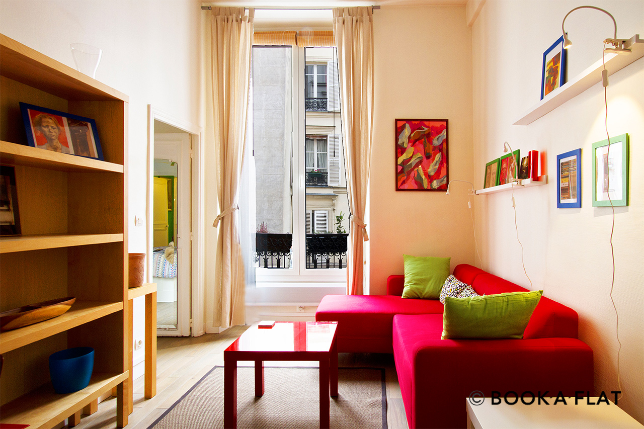 Furnished apartment for rent Paris Rue Saint Bernard