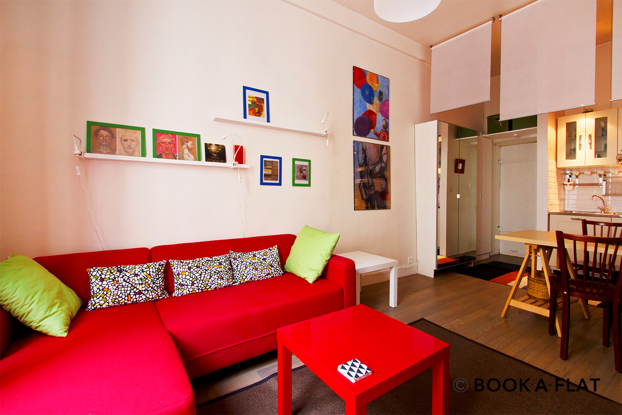 Apartment Paris Rue Saint Bernard 2