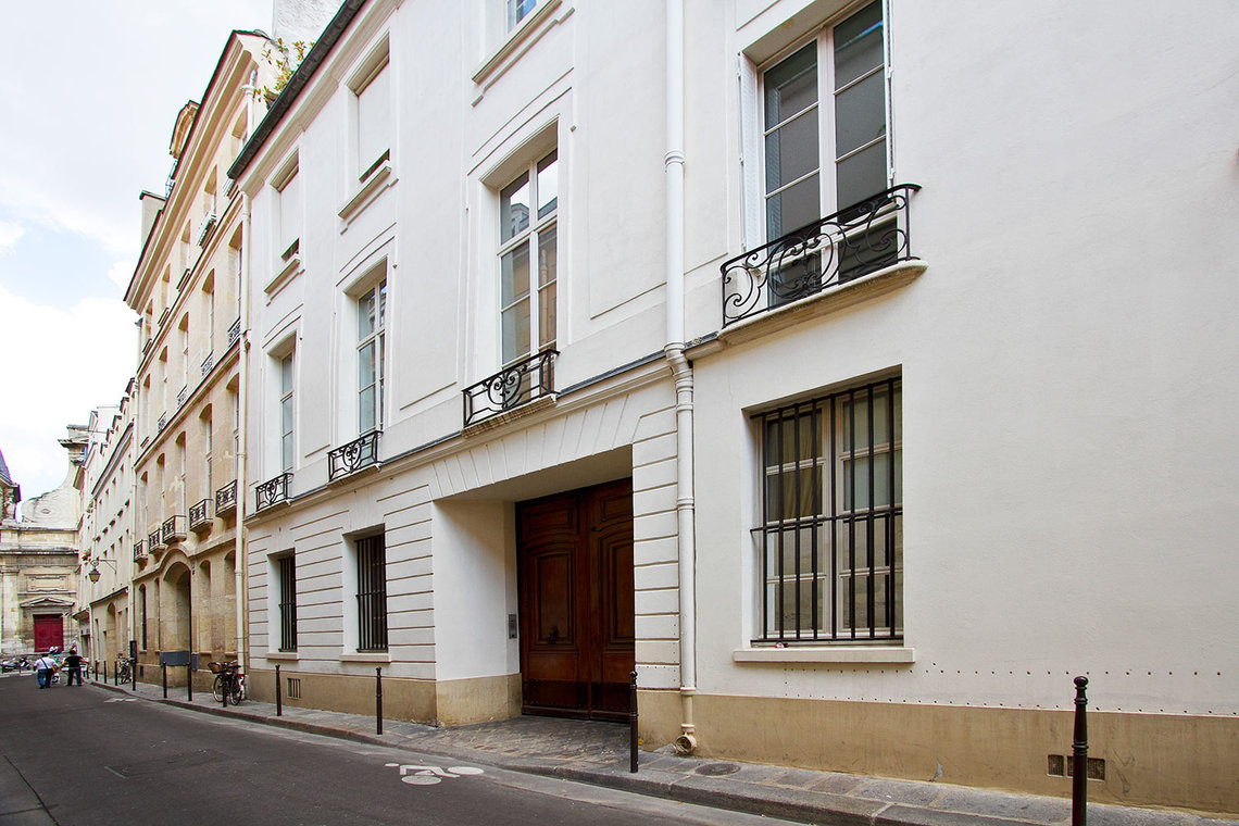 Apartment Paris Rue Aubriot 11