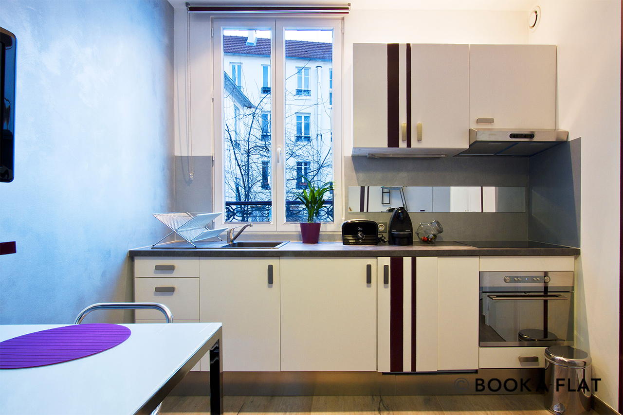 Appartement Paris Rue du Morvan 2