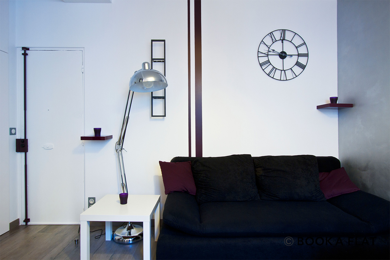 Appartement Paris Rue du Morvan 4