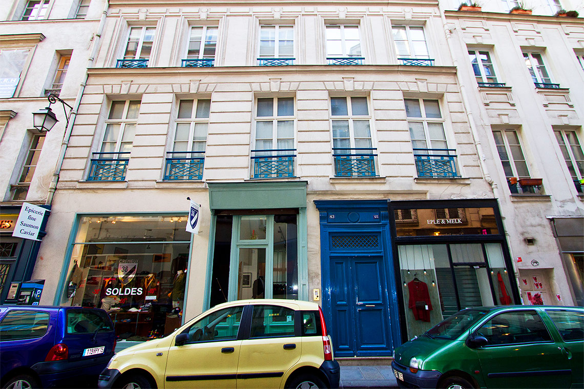 Apartment Paris Rue Charlot 11