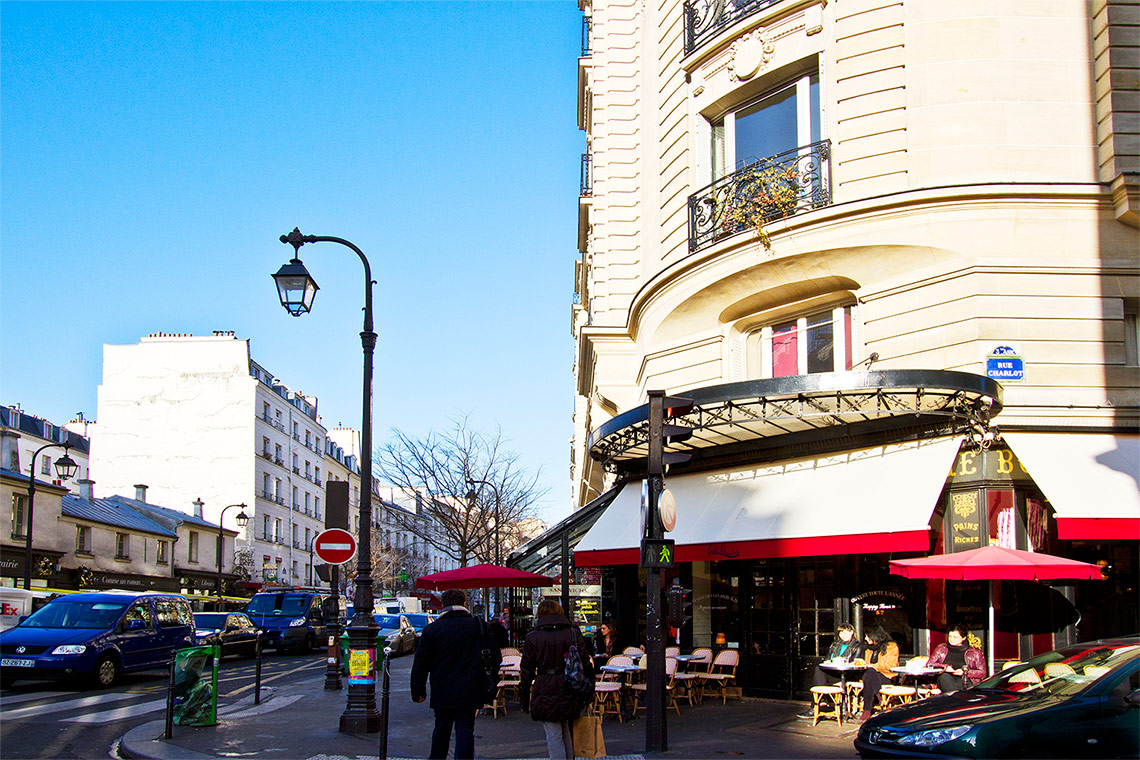 Apartment Paris Rue Charlot 12