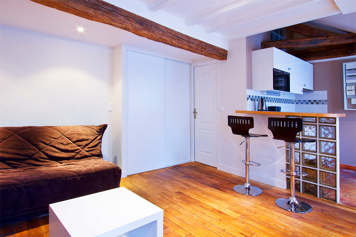 Furnished apartment for rent Paris Rue Charlot