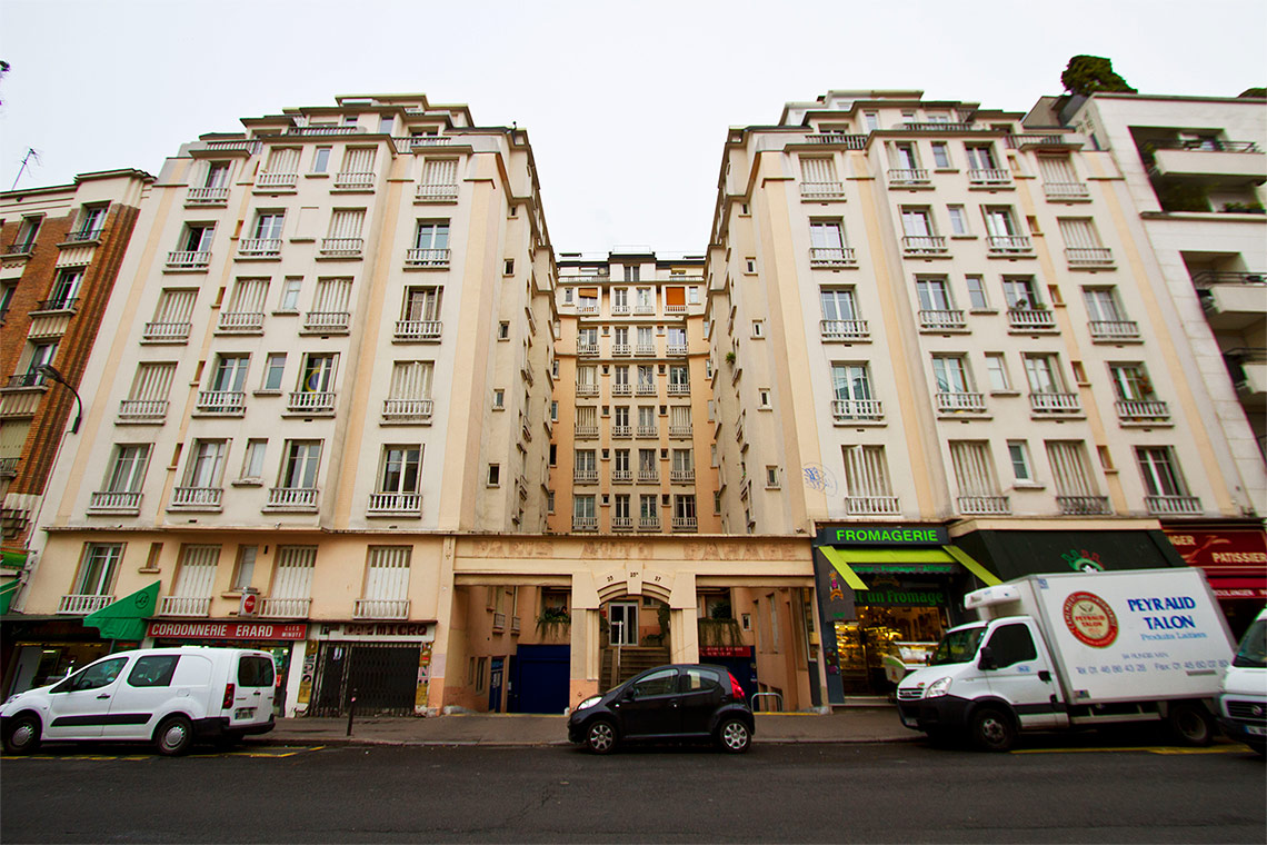 Apartment Paris Rue Erard 9