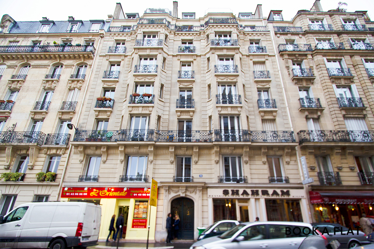Appartement Paris Rue du Laos 9