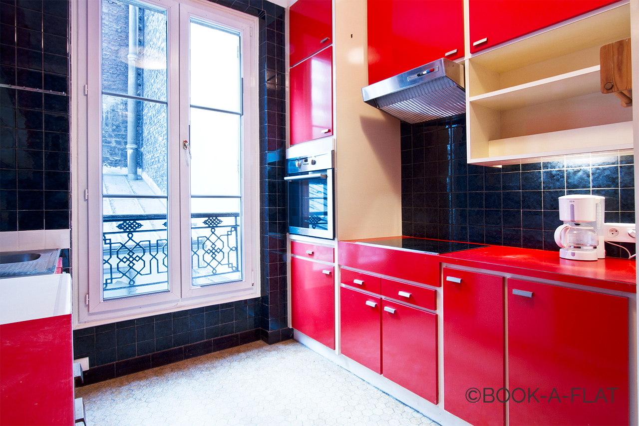 Apartment Paris Rue Brey 3