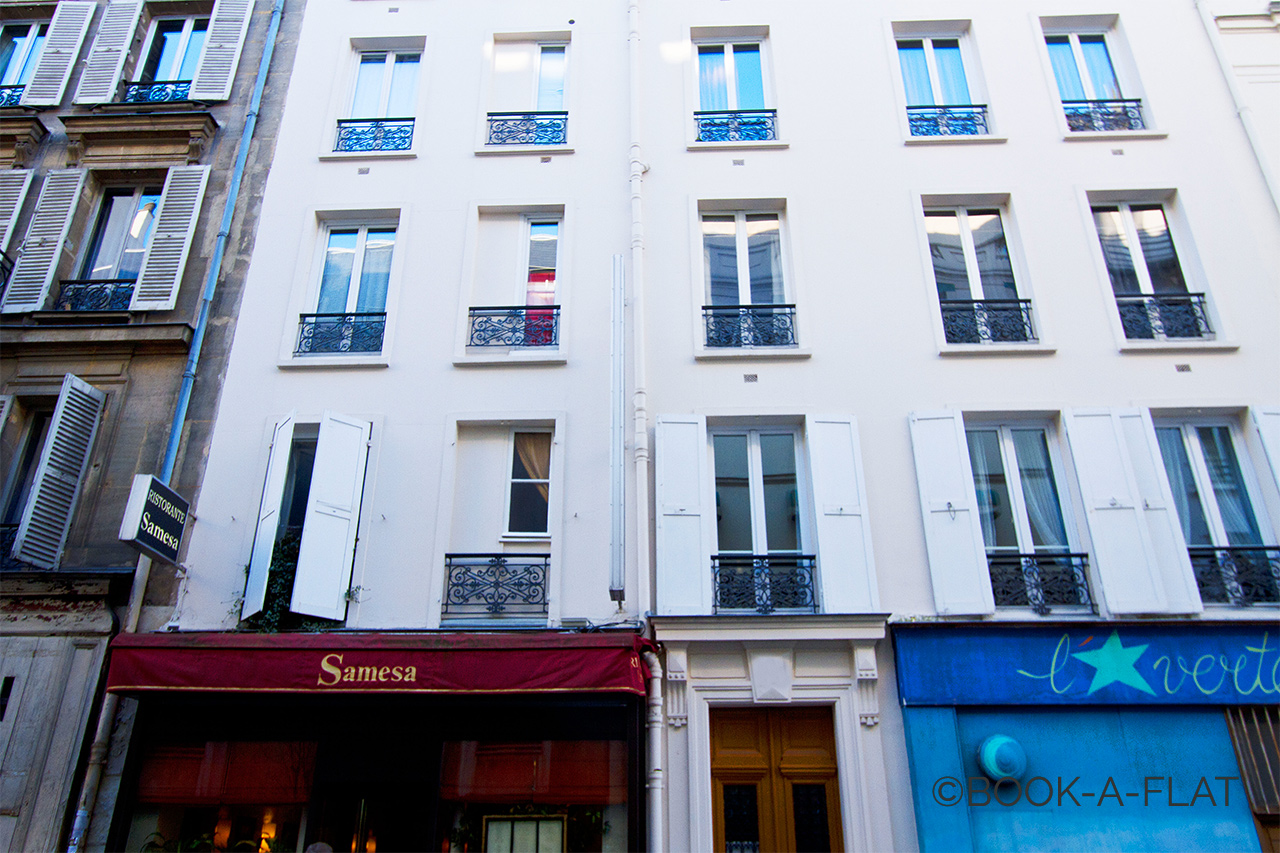 Apartment Paris Rue Brey 10