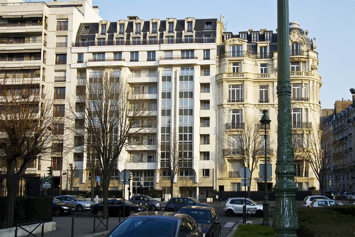 Appartement Paris Boulevard Suchet 9