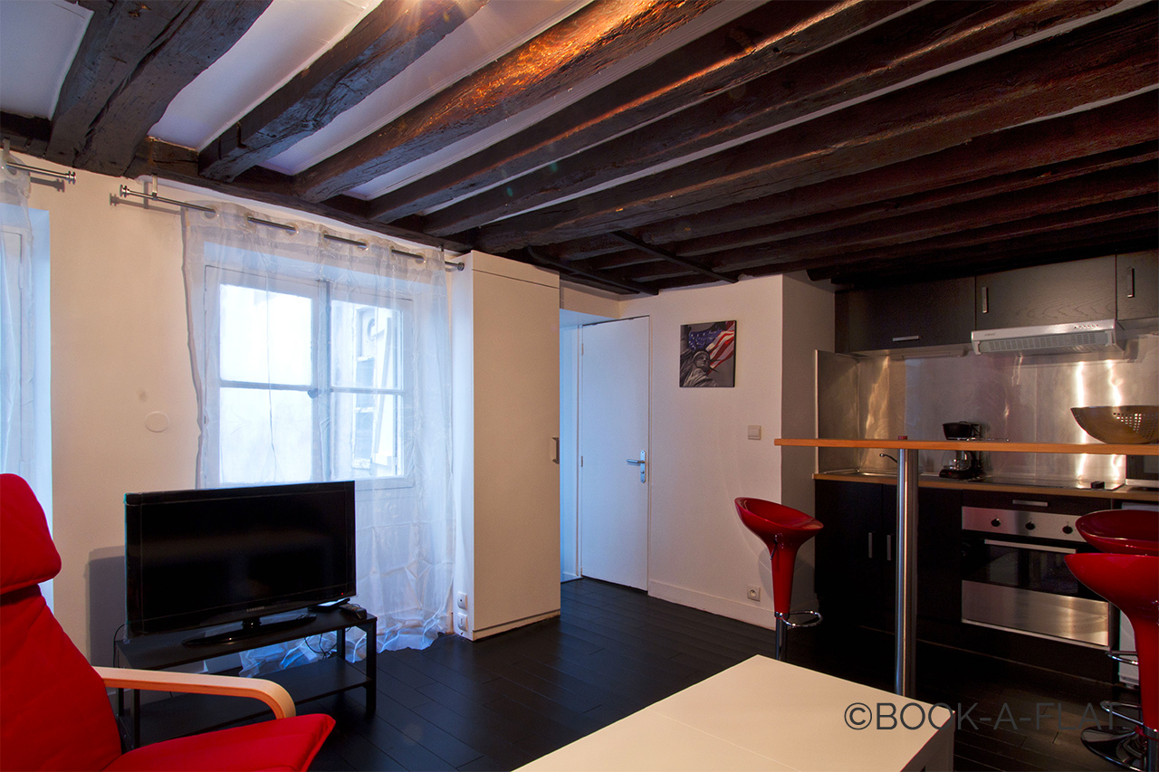 Appartement Paris Rue Charlot 3