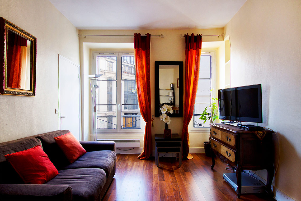 Furnished apartment for rent Paris Rue d'Aboukir
