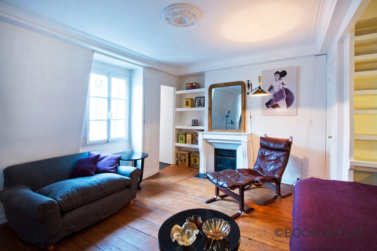 Appartement Paris Rue Feydeau 2