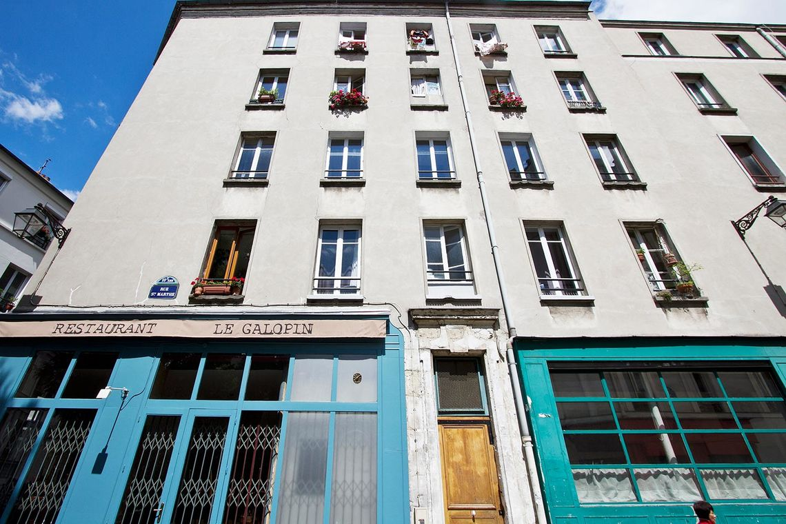 Квартира Paris Rue Sainte Marthe 8