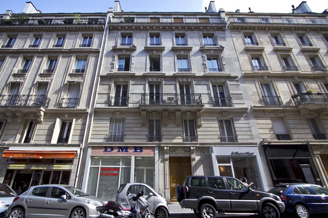Appartement Paris Rue de la Pompe 11
