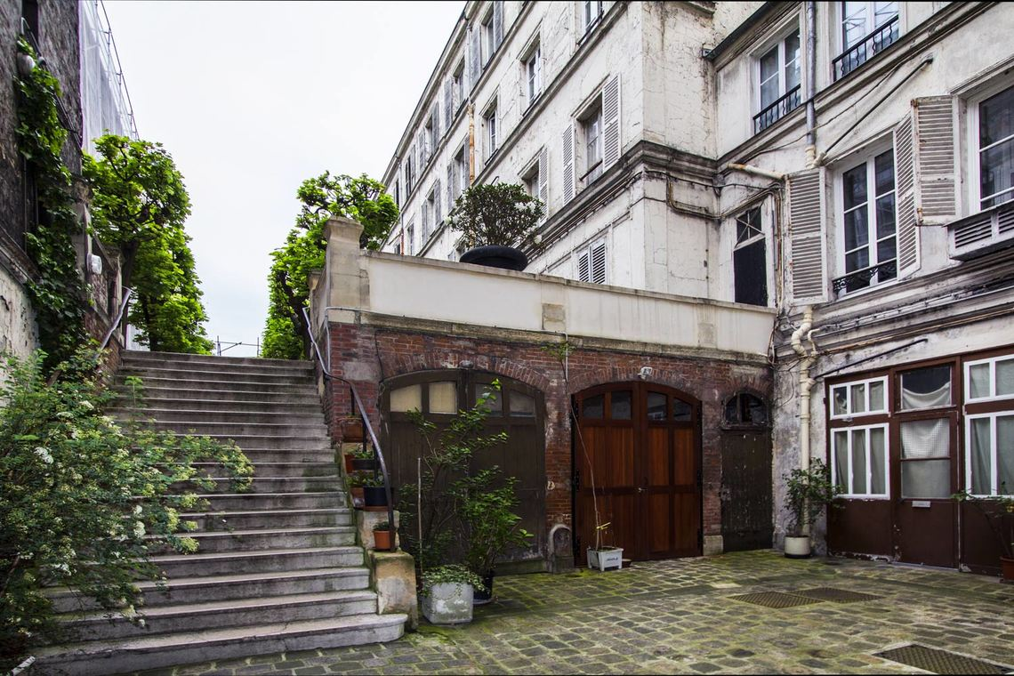 Appartement Paris Rue Washington 12