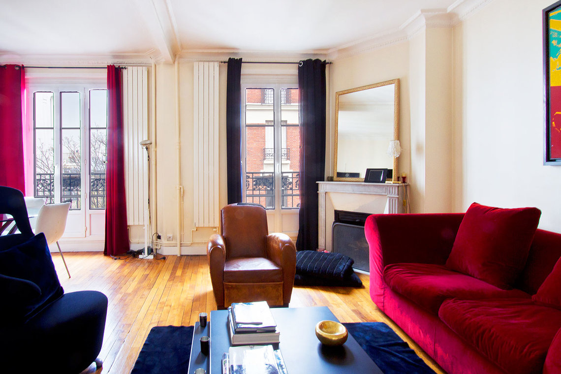 Appartement Paris Rue du Mont Cenis 3