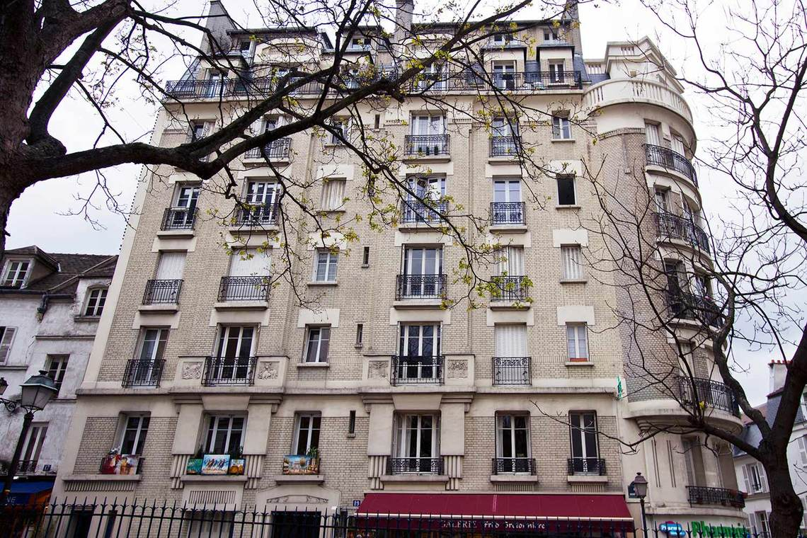 Appartement Paris Rue du Mont Cenis 9