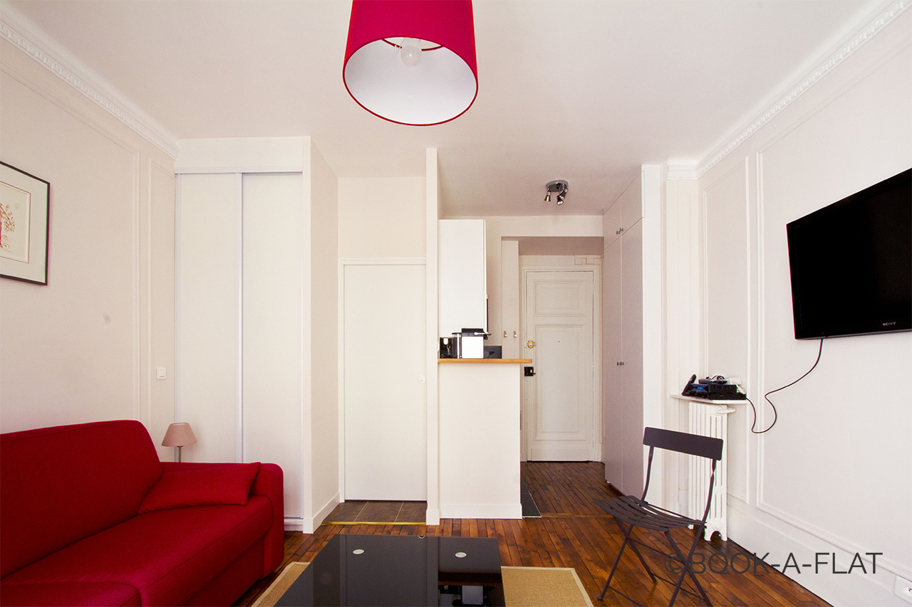 Appartement Paris Rue Troyon 2