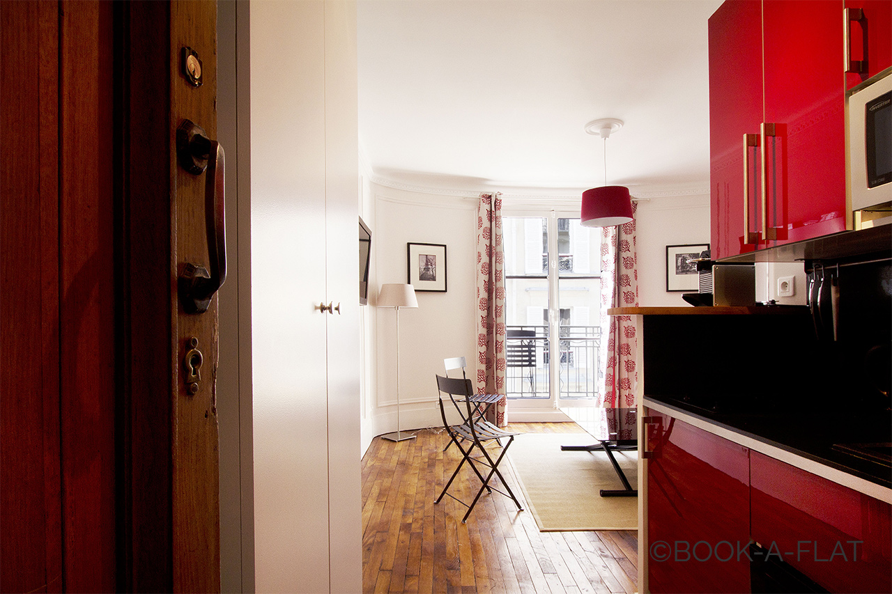 Appartement Paris Rue Troyon 5