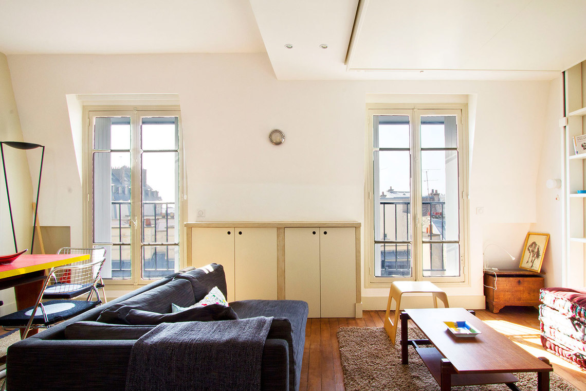 Furnished apartment for rent Paris Rue Royer-Collard