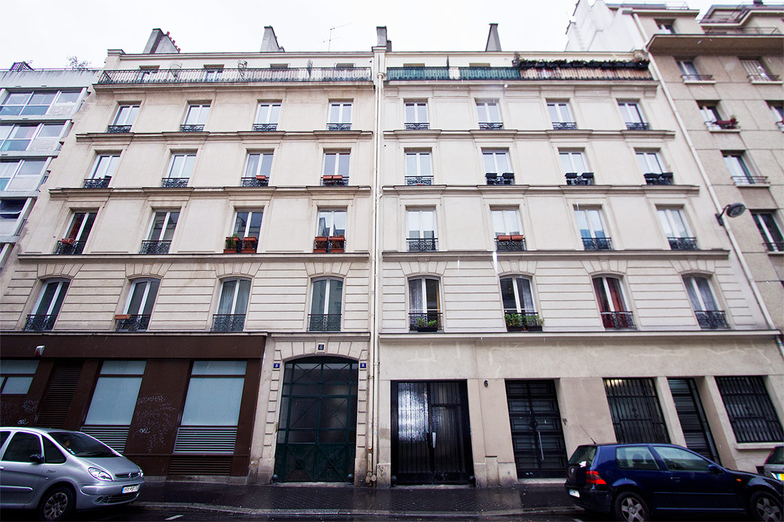 Apartment Paris Rue Alibert 10