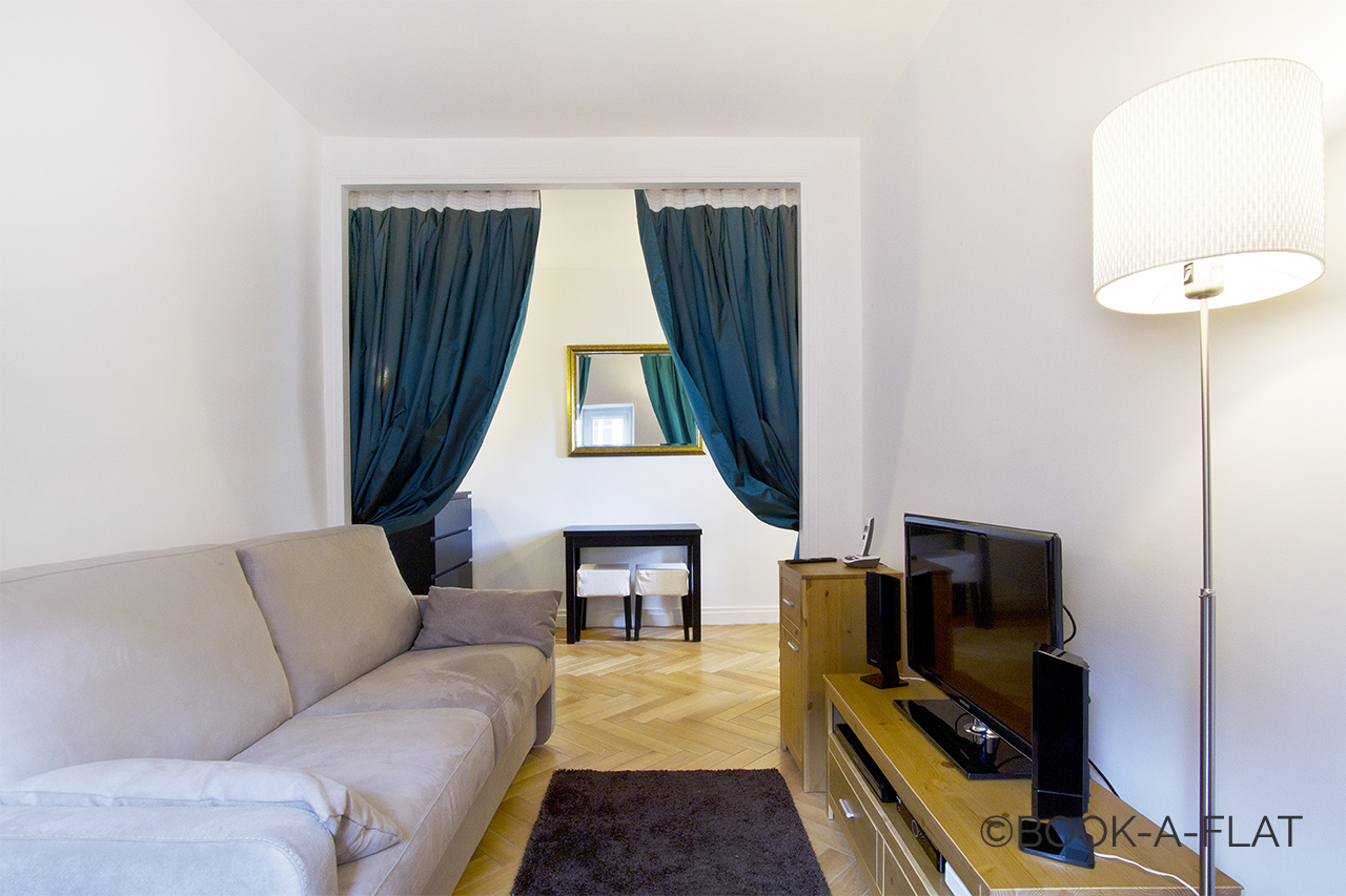 Furnished apartment for rent Paris Rue Favart