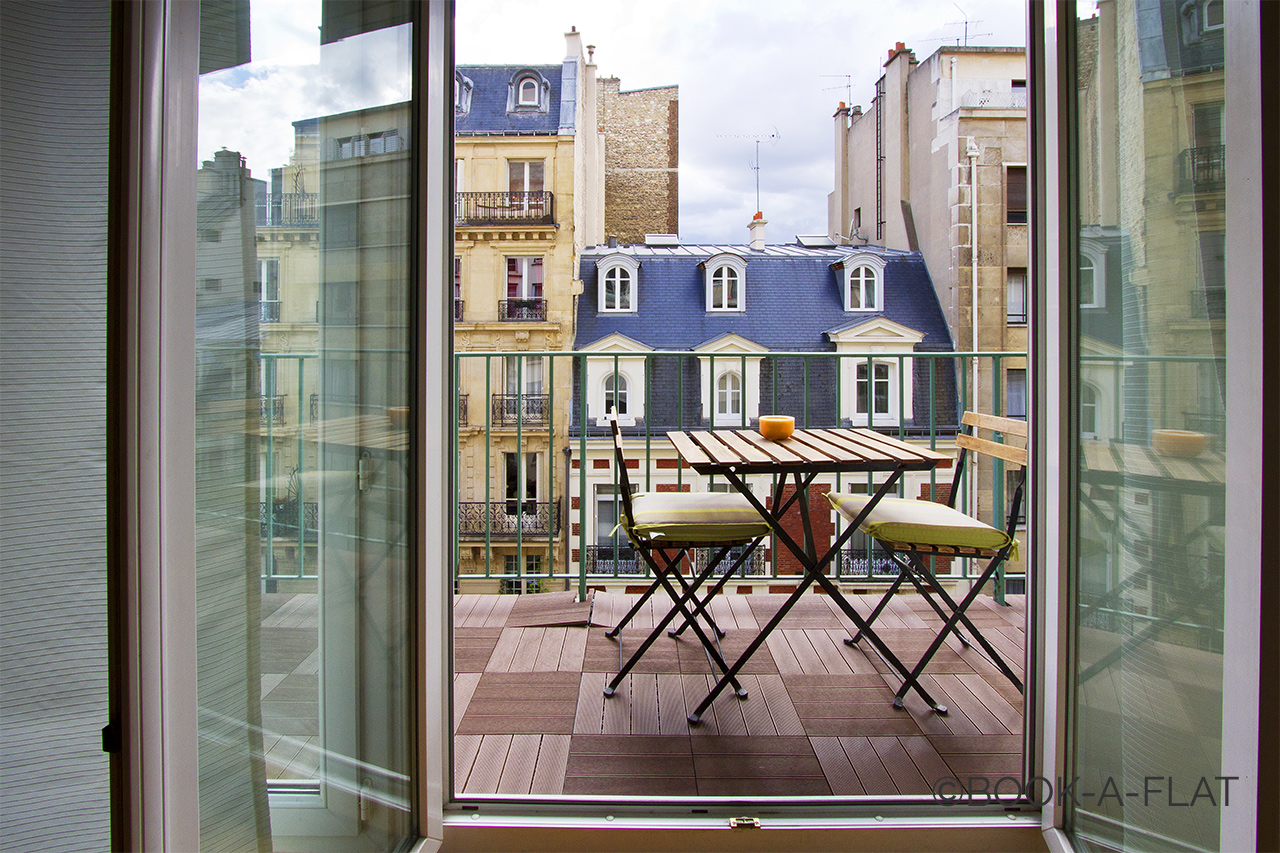 Apartment Paris Rue Weber 8