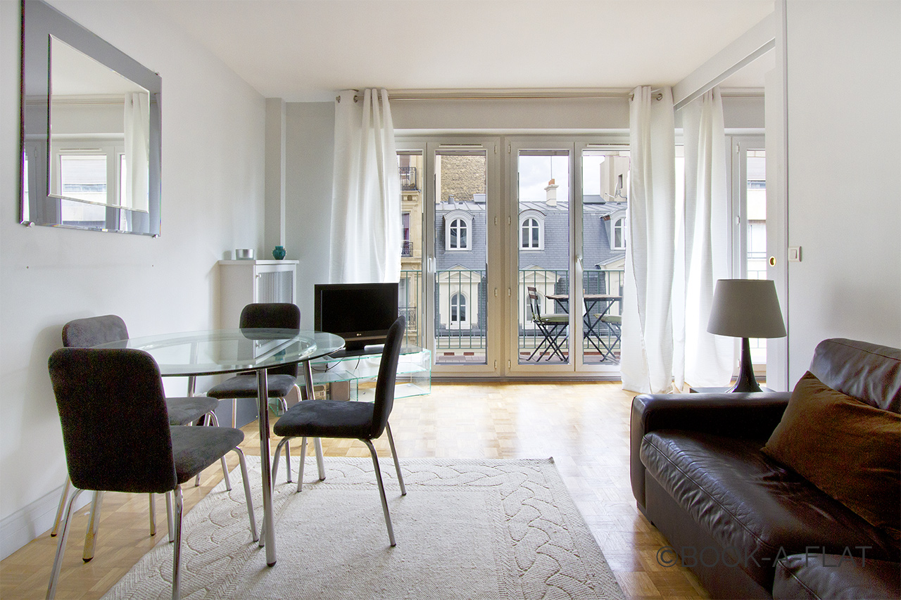 Furnished apartment for rent Paris Rue Weber