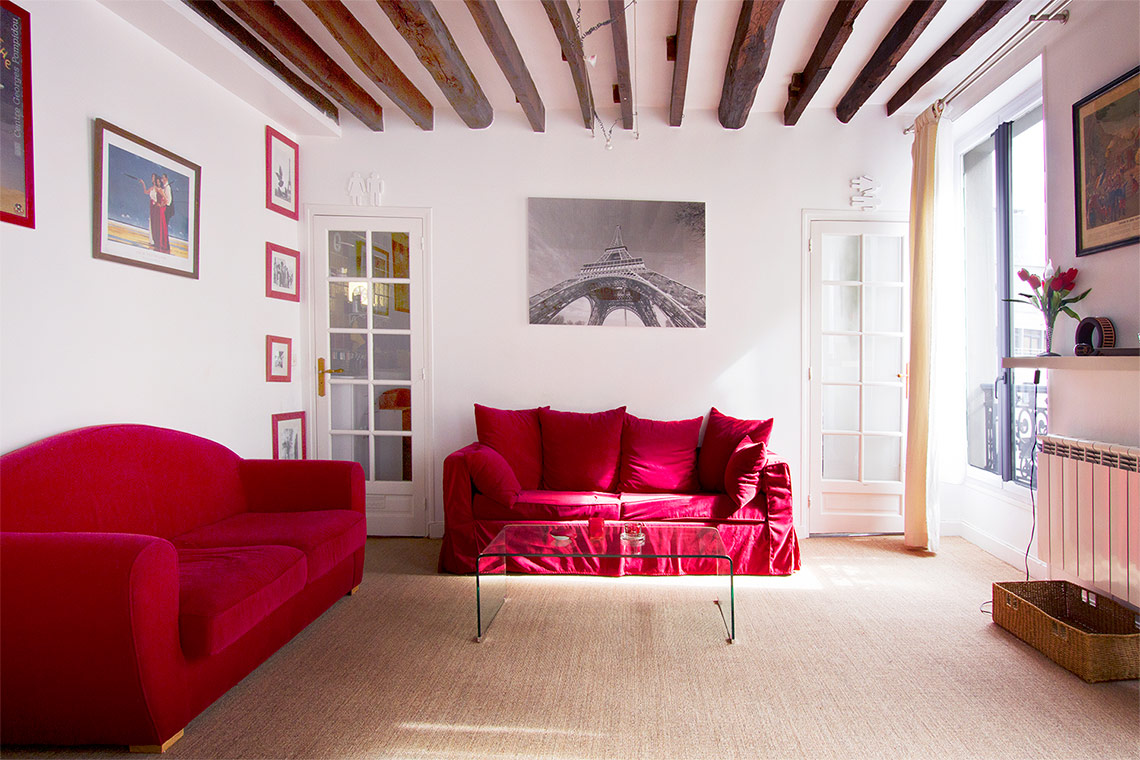 Furnished apartment for rent Paris Rue Saint Sabin