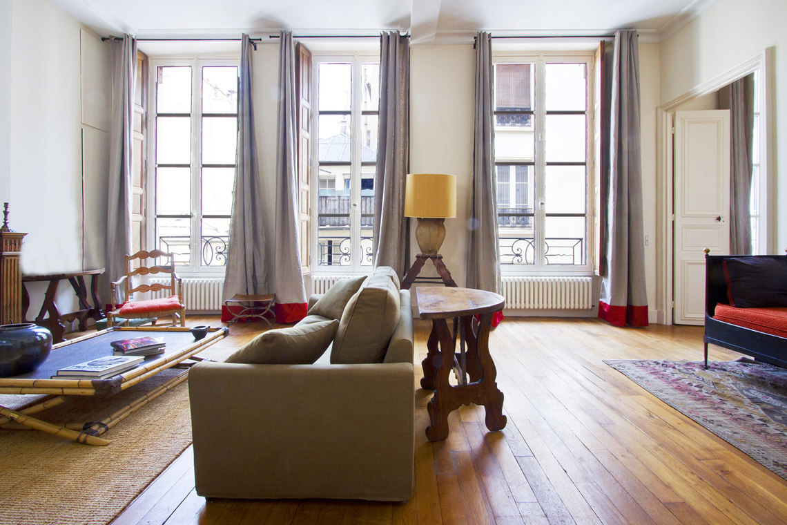 Furnished apartment for rent Paris Rue Thérèse