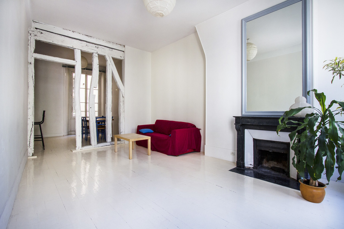 Paris Rue Quincampoix Apartment for rent
