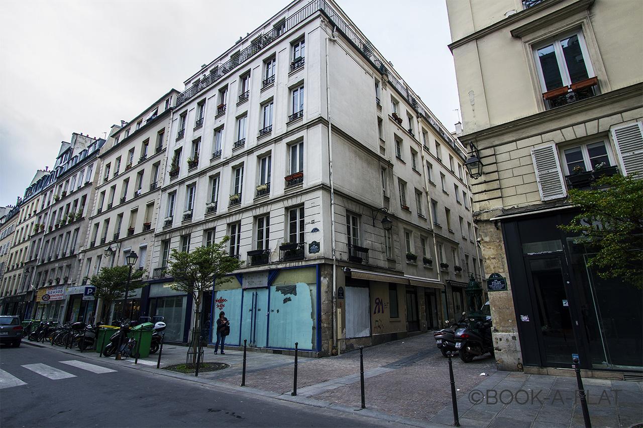 Furnished Studio For Rent Rue Notre Dame De Nazareth Paris Ref 7336