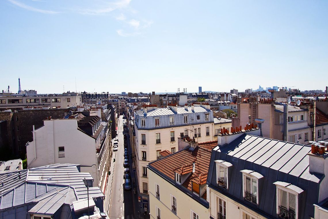 Appartement Paris Rue la Condamine 12