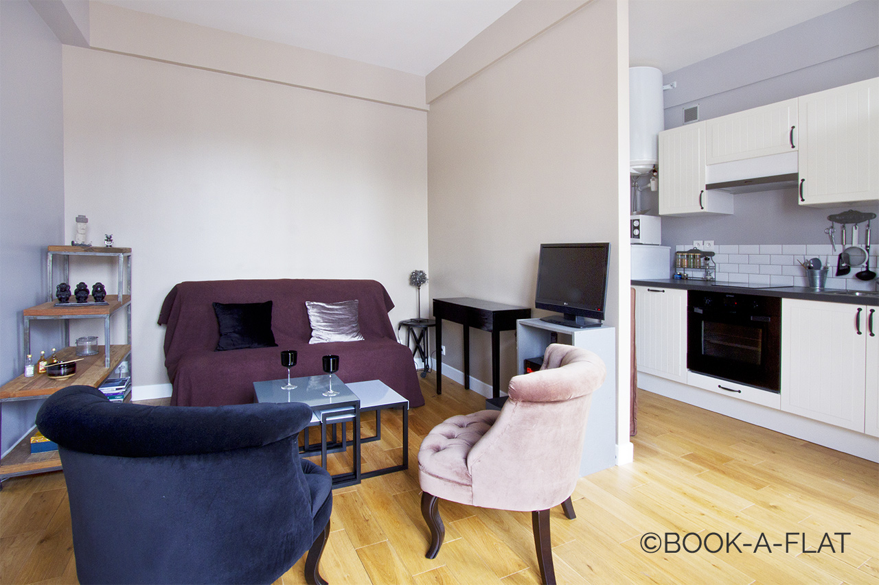 Furnished apartment for rent Paris Avenue Jean Jaurès