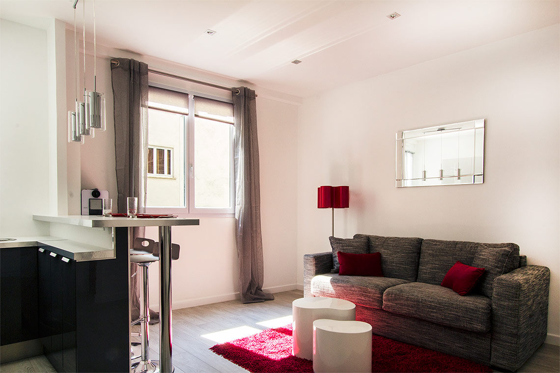 Furnished apartment for rent Paris Passage Doisy